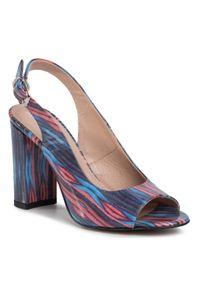 Fioletowe sandały Ann Mex