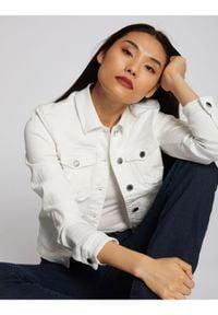 Biała kurtka jeansowa Morgan