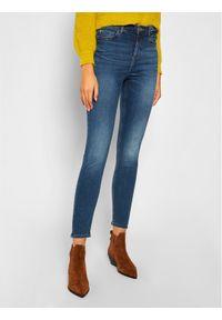 Guess Jeansy Skinny Fit 1981 W0YA46 D4484 Granatowy Skinny Fit. Kolor: niebieski