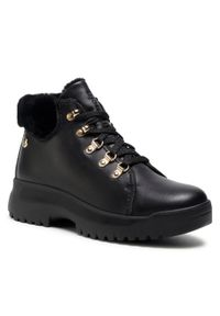 Czarne buty trekkingowe Panama Jack