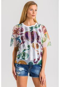 Versace Jeans Couture - T-SHIRT versace jeans couture. Materiał: materiał