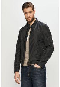 Czarna kurtka Calvin Klein Jeans casualowa, na co dzień