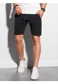 Czarne szorty Ombre Clothing krótkie