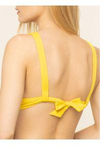 Żółte bikini Emporio Armani