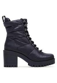 Czarne buty trekkingowe Steve Madden