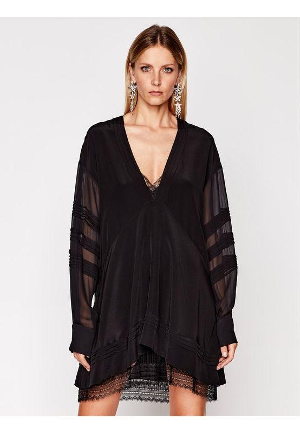 Czarna sukienka IRO na co dzień, casualowa