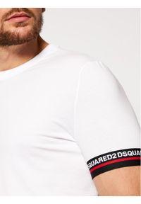 Biały t-shirt Dsquared2 Underwear