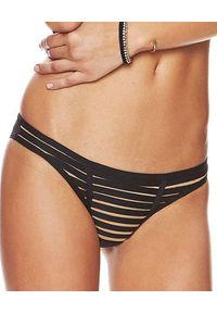 BEACH BUNNY - Dół od bikini. Kolor: czarny. Materiał: poliamid, materiał