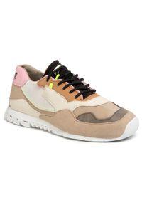 Camper - Sneakersy CAMPER - Nothing K200836-021 Multicolor. Okazja: na co dzień. Kolor: beżowy. Materiał: skóra, zamsz, materiał. Szerokość cholewki: normalna. Sezon: lato. Obcas: na płaskiej podeszwie. Styl: elegancki, sportowy, casual