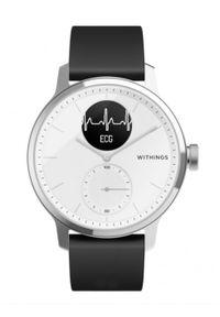Biały zegarek WITHINGS smartwatch, klasyczny