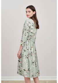 Marie Zélie - Sukienka Noelia Pomum. Materiał: bawełna, wiskoza, tkanina, materiał