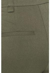 Miętowe spodnie materiałowe medicine casualowe, na co dzień
