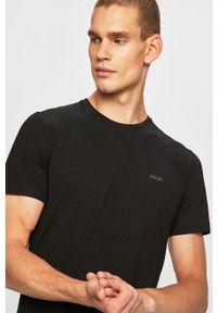 Czarny t-shirt JOOP! z okrągłym kołnierzem