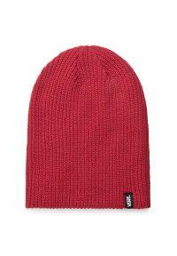 Czerwona czapka zimowa Vans
