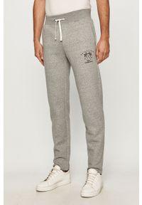 Szare spodnie dresowe Quiksilver melanż