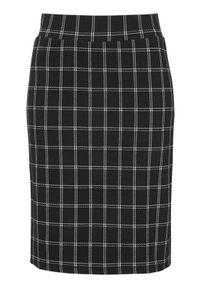 Czarna spódnica Cellbes krótka, w kratkę, elegancka, na co dzień