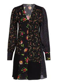 Czarna sukienka letnia MCQ Alexander McQueen
