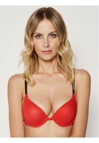 Czerwony biustonosz z fiszbinami Dsquared2 Underwear