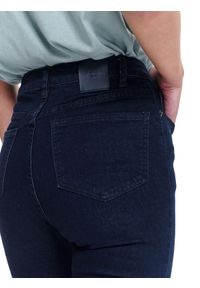 Niebieskie spodnie TOP SECRET długie, sportowe, z podwyższonym stanem