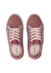 Mayoral - Espadryle MAYORAL - 45247 Ballet. Kolor: różowy. Materiał: materiał. Szerokość cholewki: normalna