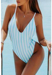 Niebieski strój kąpielowy IVET