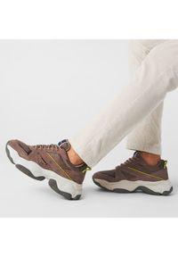 Trussardi Jeans Sneakersy 77A00276 Brązowy. Kolor: brązowy