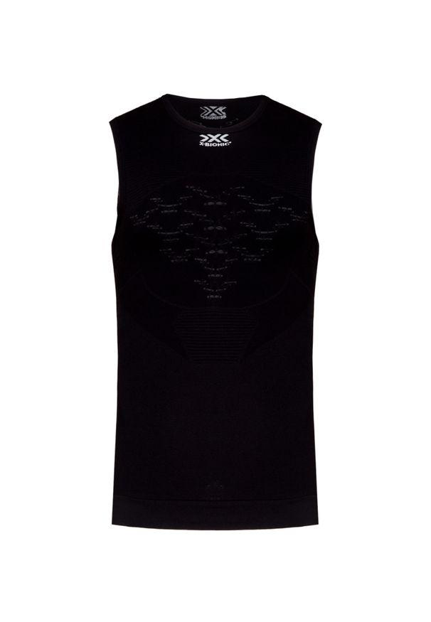 Czarna koszulka termoaktywna X-Bionic bez rękawów