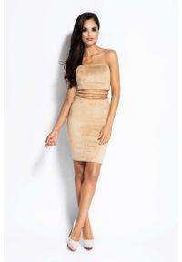 Sukienka mini Dursi gorsetowa, z gorsetem