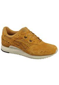 Żółte sneakersy Asics lifestyle Asics Gel Lyte, z cholewką