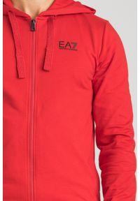 Bluza EA7 Emporio Armani z klasycznym kołnierzykiem, klasyczna