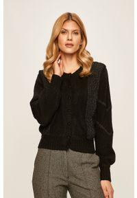 Czarny sweter rozpinany Pepe Jeans