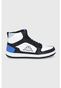 Kappa - Buty Lineup. Nosek buta: okrągły. Zapięcie: sznurówki. Kolor: biały. Materiał: guma. Szerokość cholewki: normalna