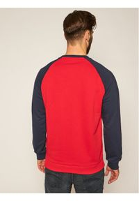 Fila Bluza Baha Raglan 687961 Czerwony Regular Fit. Kolor: czerwony. Długość rękawa: raglanowy rękaw
