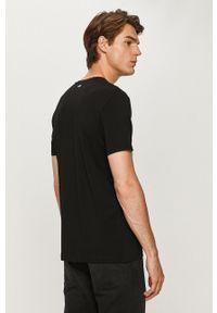 Hugo - T-shirt (2-pack). Okazja: na co dzień. Kolor: czarny. Materiał: dzianina. Styl: casual