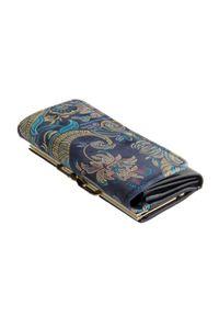 Niebieski portfel Perfekt Plus