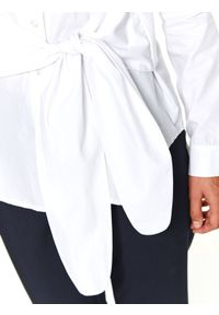 Biała koszula TOP SECRET w kolorowe wzory, na jesień