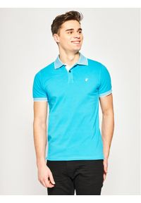 Niebieska koszulka polo Save The Duck polo