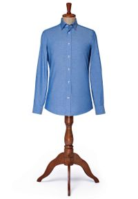 Niebieska koszula Lancerto elegancka