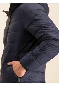 Niebieska kurtka puchowa Emporio Armani