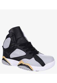 Casu - Szare buty sportowe sznurowane casu 201b/g. Kolor: szary
