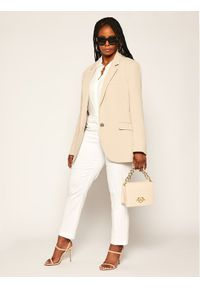 Białe spodnie materiałowe Persona by Marina Rinaldi
