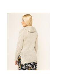 Beżowy sweter Persona by Marina Rinaldi