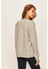 Szara bluza Nike Sportswear casualowa, bez kaptura