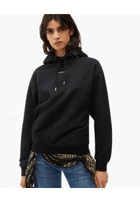 Kenzo - KENZO - Czarna bluza z logo. Kolor: czarny. Materiał: bawełna. Długość rękawa: długi rękaw. Długość: długie. Styl: klasyczny