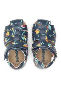 Niebieskie sandały Naturino klasyczne, na lato