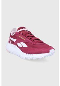 Reebok Classic - Buty CL Legacy. Nosek buta: okrągły. Zapięcie: sznurówki. Kolor: czerwony. Materiał: guma. Model: Reebok Classic
