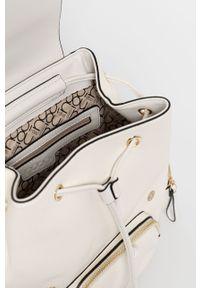 Biały plecak Nobo gładki