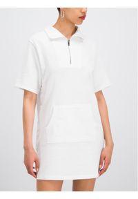 Biała sukienka DKNY casualowa, sportowa, na co dzień #5