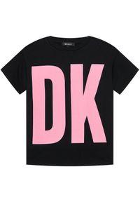 Czarna sukienka DKNY na co dzień, casualowa