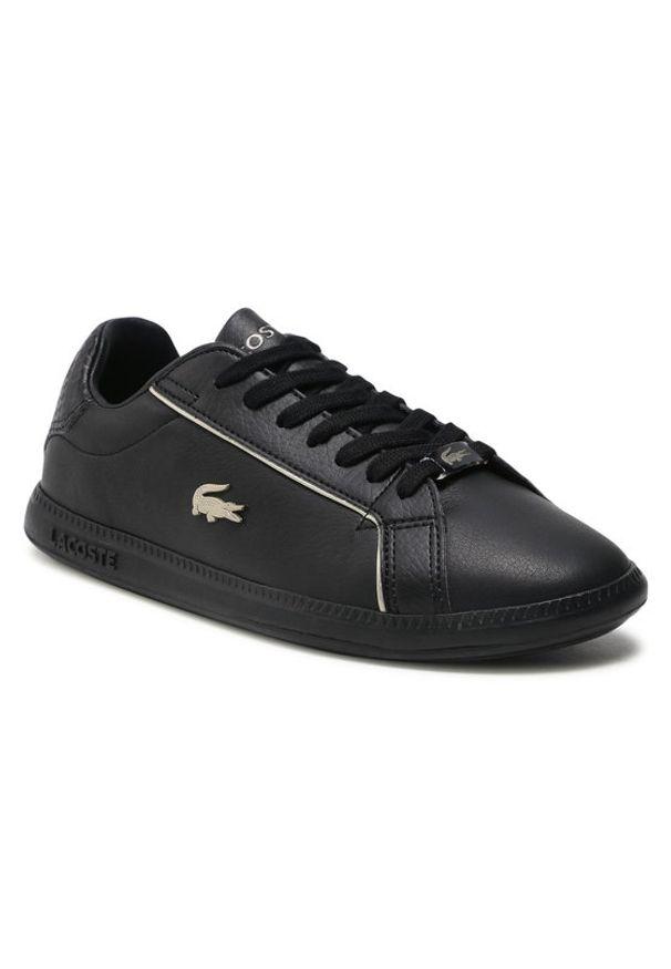 Lacoste Sneakersy Graduate 0721 1 Sfa 7-41SFA007702H Czarny. Kolor: czarny